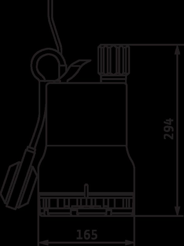 Wilo-Drain TM 32/8-10M