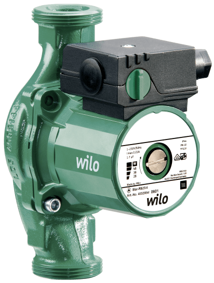 Wilo-Star-RS 30/4 с гайками