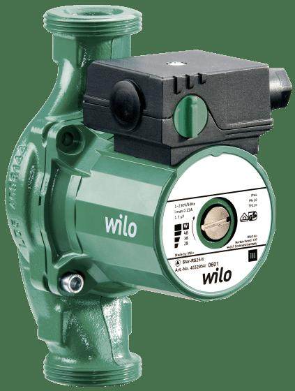 Wilo-Star-RS 25/7 с гайками